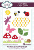Creative Expressions Stitched Collection Garden Critters Craft Die