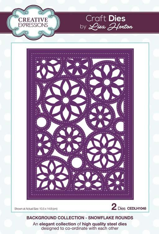 Background Collection Snowflake Rounds Craft Die