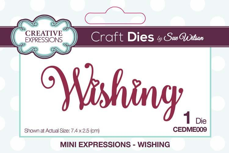 Mini Expressions Collection Wishing Die