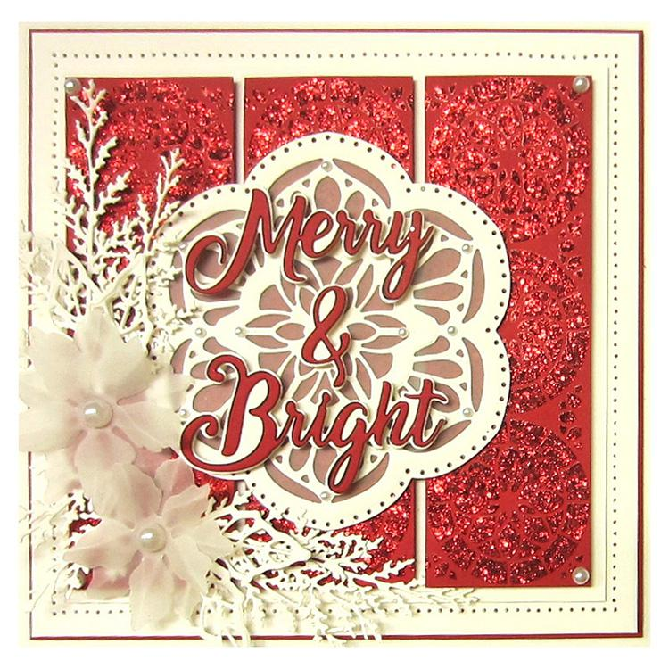 Noble Expressions Merry & Bright Craft Die
