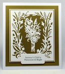 Creative Expressions: Paper Cuts Collection Summer Posy