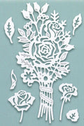 Creative Expressions: Paper Cuts Collection Autumn Posy