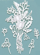 Creative Expressions: Paper Cuts Collection Winter Posy