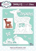 Creative Expressions Paper Cuts 3D Collection Deer Die
