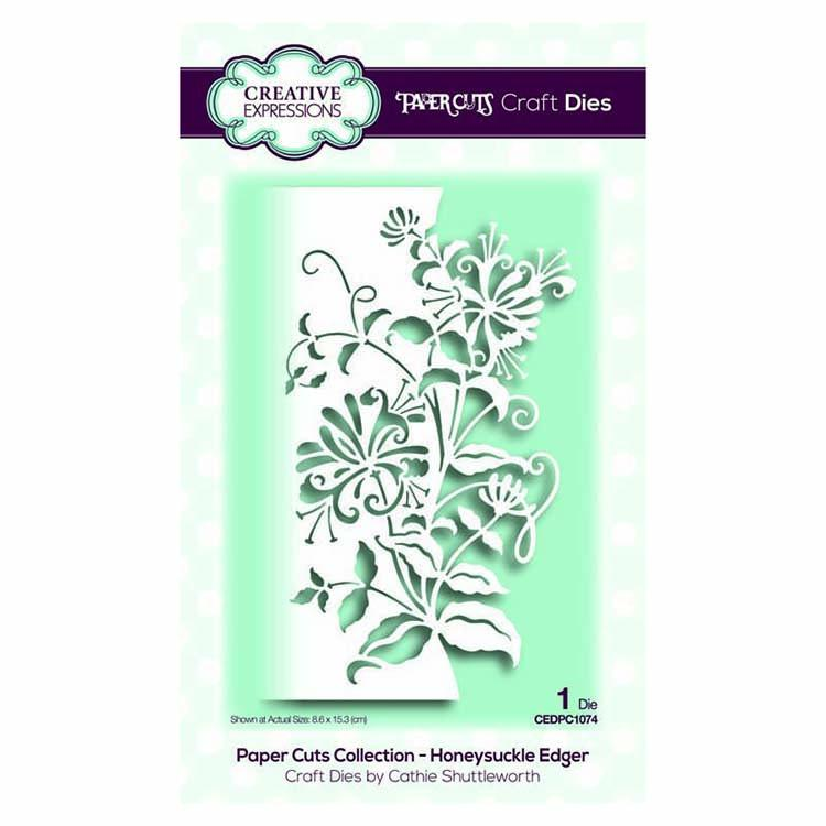 Creative Expressions Paper Cuts Collection - Honeysuckle Edger