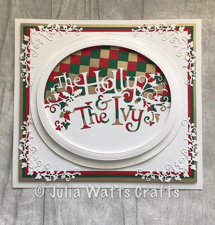 Creative Expressions Paper Cuts Collection - The Holly and the Ivy