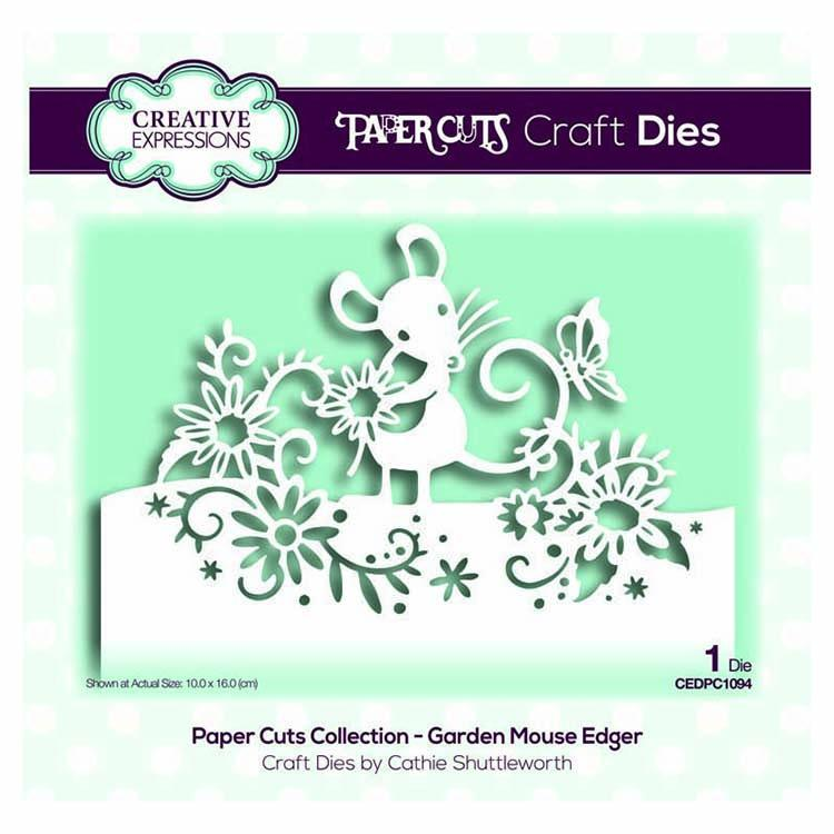 Paper Cuts Collection - Garden Mouse Edger