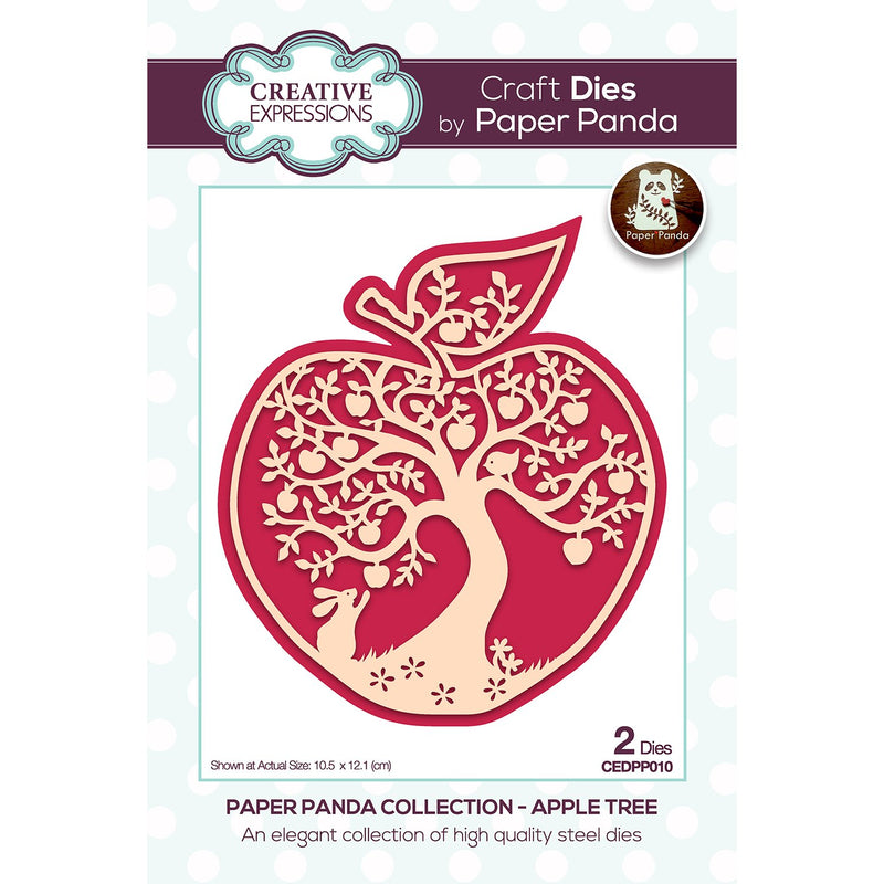 Paper Panda Apple Tree Craft Die