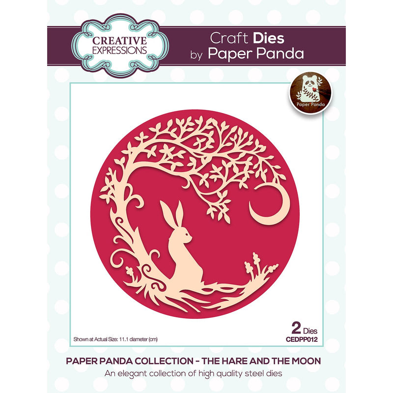 Paper Panda The Hare And The Moon Craft Die
