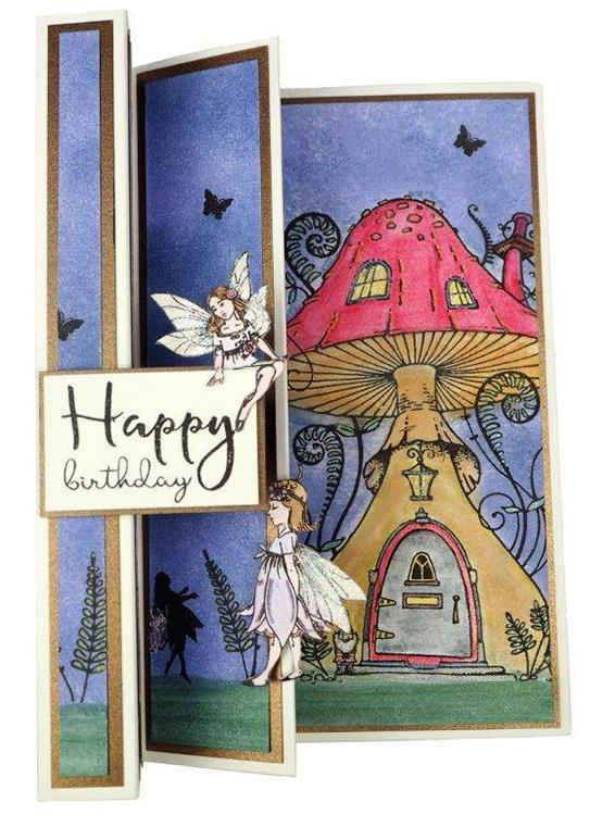 Creative Expressions Willowby Woods Collection - Fairy Doors Craft Die