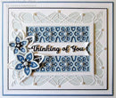 Creative Expressions Dies by Sue Wilson Mini Shadowed Sentiments Thinking of You