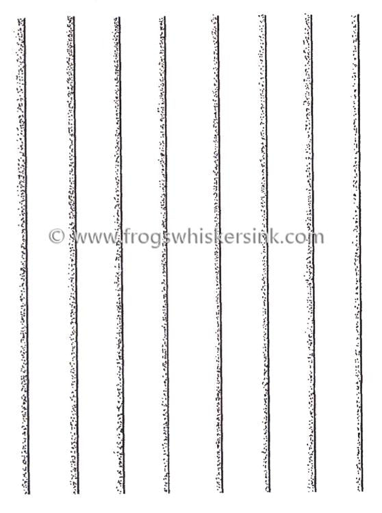 Frog's Whiskers Ink Stamp - Clapboard