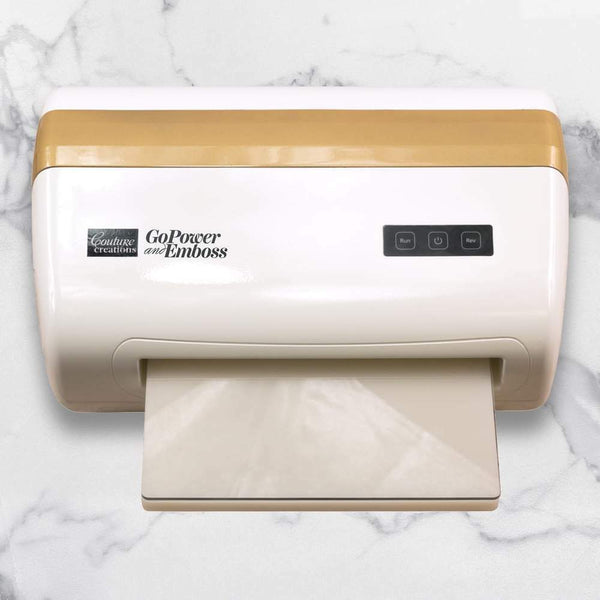 GoPower & Emboss Machine - includes 30 dies & 2 embossing folders