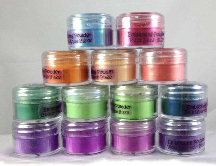 Cosmic Shimmer Blaze Embossing Powder