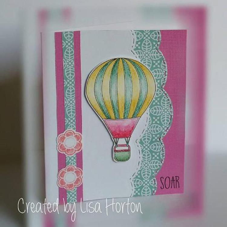 Creative Expressions - Let's Fly Away Clear Stamp Set