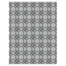 Creative Expressions Embossing Folder  5 3/4 x 7 1/2 Circle Illusion
