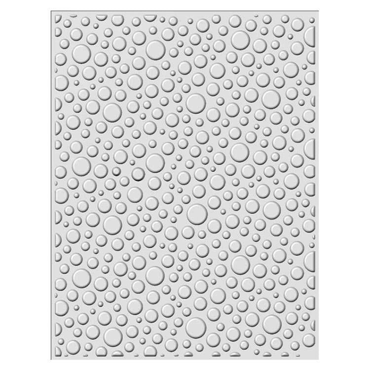 Creative Expressions Embossing Folder  3D  5 3/4 x 7 1/2 Bubble Burst