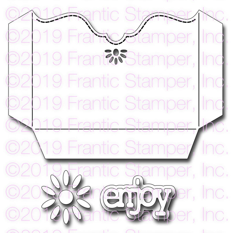 Frantic Stamper Precision Die - Gift Card Pocket
