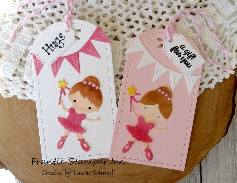 Frantic Stamper Precision Die - Little Ballerinas