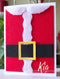 Frantic Stamper Precision Die - Santa Suit Card Maker
