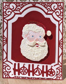 Frantic Stamper Precision Die - Jolly Santa Face