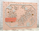 Frantic Stamper Precision Die - Chrysthanthemum Panel