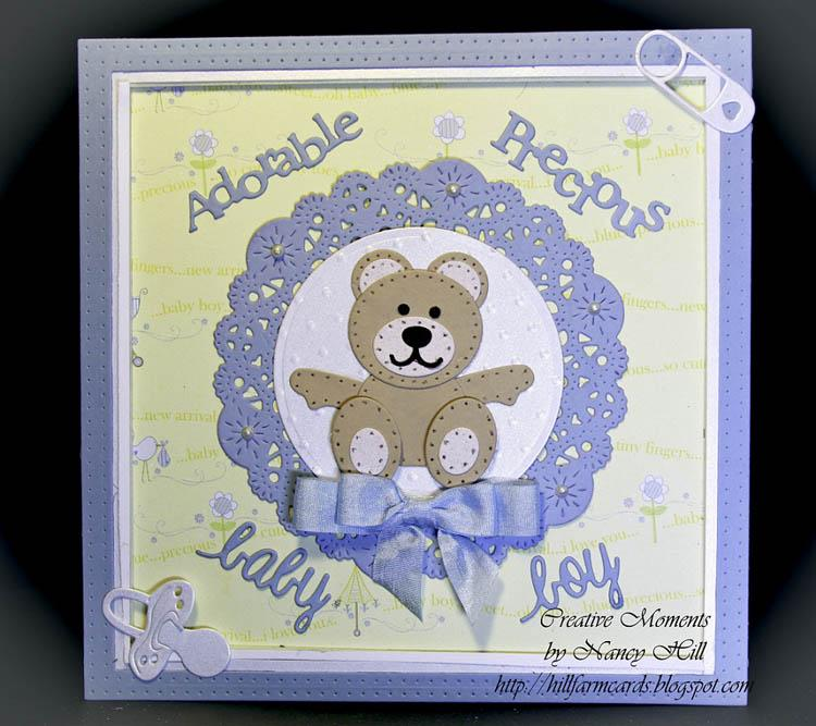 Frantic Stamper Precision Die - Felt Teddy Bear Parts