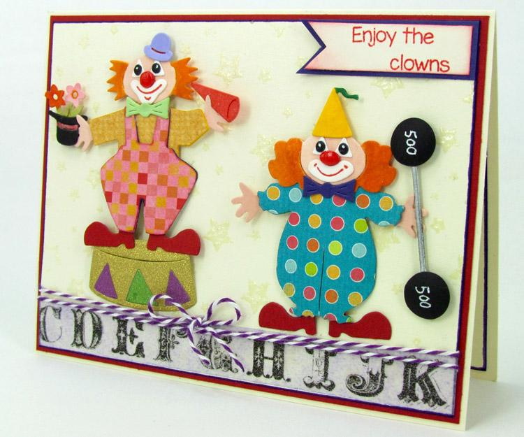 Frantic Stamper Precision Die - Large Clown Builder