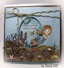 Frantic Stamper Precision Die - Cute Mermaid