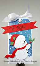 Frantic Stamper Precision Die - Sweet Holly Snowman