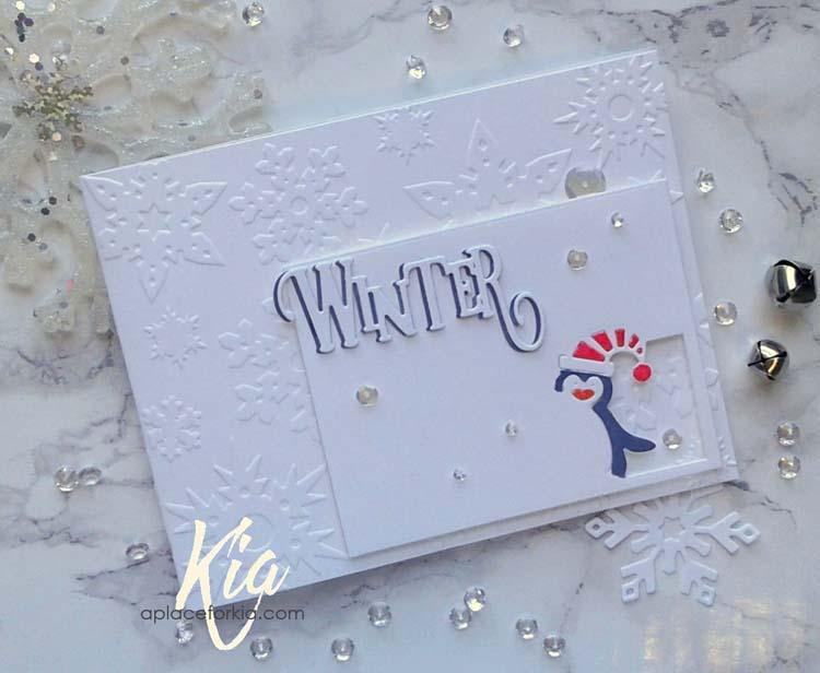 Frantic Stamper Precision Die - Elegant Winter