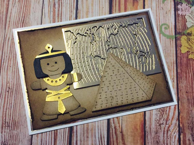 Frantic Stamper Precision Die - Egyptian Doll Clothing