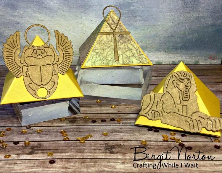 Frantic Stamper Precision Die - Egyptian Icons