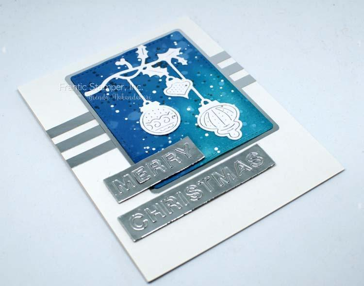 Frantic Stamper Precision Die - Hanging Ornaments