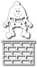 Frantic Stamper Precision Die - Humpty Dumpty & Wall (set of 2)