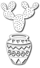 Frantic Stamper Precision Die - Native Pot and cactus (set of 2 dies)