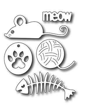 Frantic Stamper Precision Die - Cat Icons
