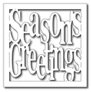 Frantic Stamper Precision Die - Square Season's Greetings