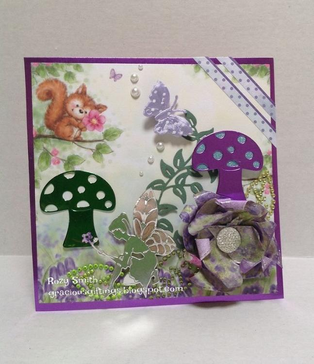 Frantic Stamper Precision Die - Fairy and Flower