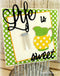 Frantic Stamper Precision Die - Lemonade Set
