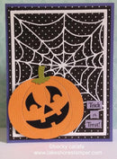 Frantic Stamper Precision Die - Large Pumpkin