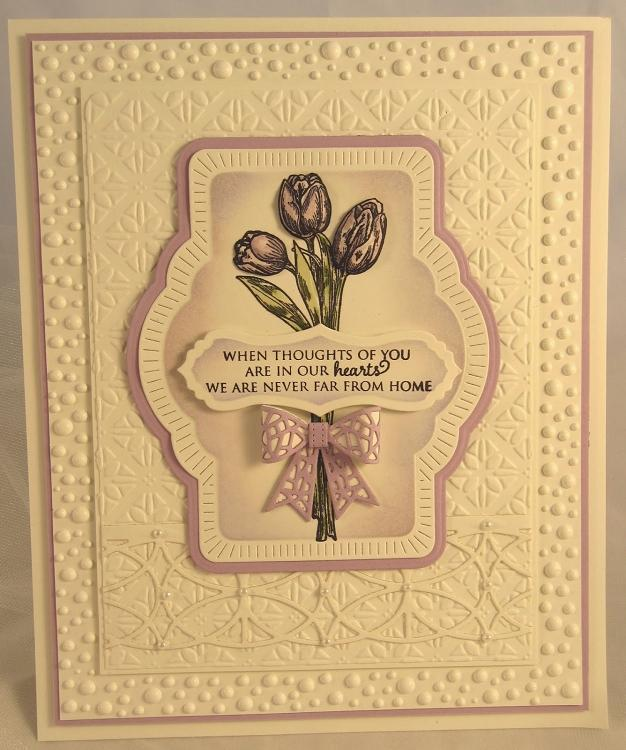 Sue Wilson Dies - Finishing Touches Collection - Mosaic 3D Itty Bitty Bow