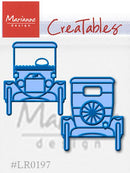 Marianne Design: Creatables Dies - Model T - Ford-2 dies