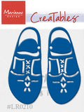 Marianne Design: Creatables Dies - Wooden Shoes
