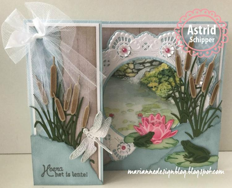 Marianne Design: Creatables - Petra's Circle With Bird