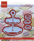 Marianne Design: Creatables - Tiered Tray & Macarons