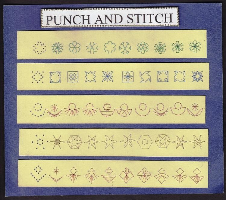 Punch & Stitch - square