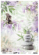 Jenine's Mindful Art Rice Paper Time to Relax 210x297mm nr.28