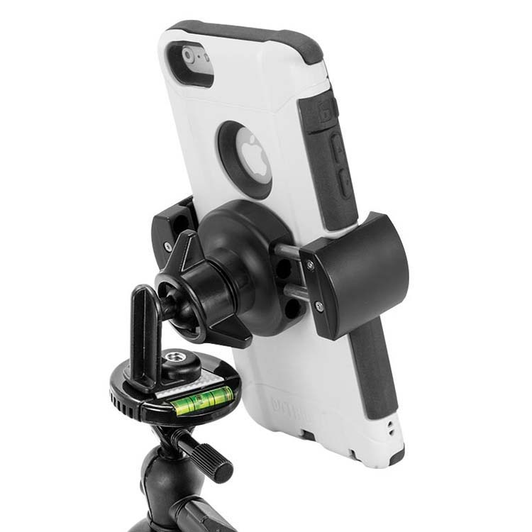 Arkon Mounts Tripod Bundle with Light and Remote