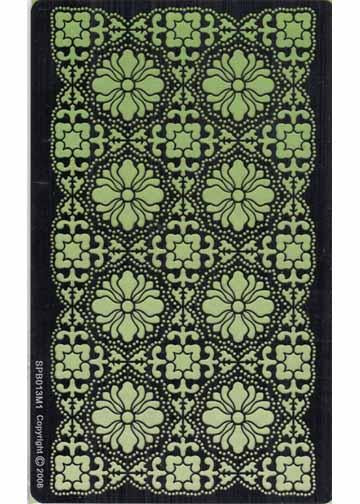 Ecstasy Crafts Exclusive Piecing/Embossing Templates -Ornate flowers